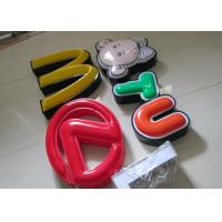 Best Illuminated Channel Letters Metal Returns With Formed Face / Outdoor Signage wholesale