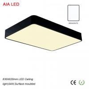 Best Matt black 32W good price and economic SMD LED Ceiling light for bedroom for living room wholesale