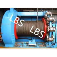 Best Lebus Grooves Offshore Winch Oil Well Drilling Rig Parts Winch With Brake Disc wholesale
