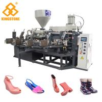 Best Rotary Type Women Men Plastic Shoes Making Machine 110-150 Pairs / Hour wholesale