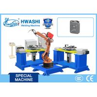 Best Industrial Welding Robotic Arm Hwashi HS-R6-08 6 Axis Automatic MIG/TIG AC Servo Driving wholesale