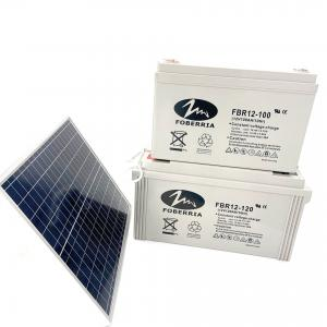 Best 12V 100Ah 10Hr Deep Cycle Sealed Lead Acid Battery For UPS Solar System wholesale