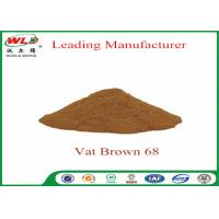 Cheap 100% Purity Synthetic Dyes C I Vat brown 68 Brown G Not Dissolved In Water for sale
