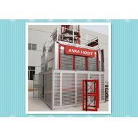 Best High Speed Building Rack And Pinion Elevator Hoist With CE / Frequency Control wholesale