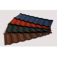 Best Heat Resistant Stone Coated Metal Roofing Tile Brick Red Roof Tiles wholesale