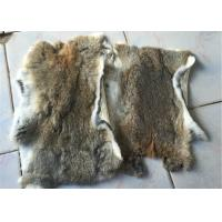 Cheap 30*40cm Smooth Dyed Rabbit Fur Pelts Warm Comfortable For Winter Garment for sale
