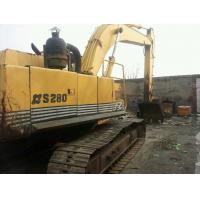 Best SECONDHAND  SUMITOMO USED EXCAVATOR S280F2 FOR SALE ALSO HITACHI EX200-1 wholesale