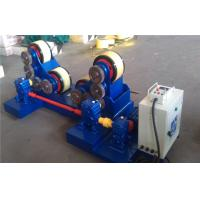 Quality 5T - 60T Pipe Welding self - aligning Rotator with rubber rollers , tank turning rolls wholesale