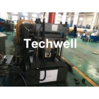 Best Top Purlin GI Carbon Steel Cold Roll Forming Machine 0-15m/Min 15KW wholesale