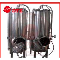 Best Common 7BBL Steam Bright Beer Tanks Industrial Tri-Clamp Connection wholesale