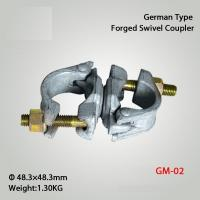 Buy cheap German Type  Drop Forged Swivel Coupler Scaffolding Couplers from wholesalers