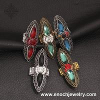 Best Bright Arabic Top Grade Crystal New Design Finger Ring For Birthday Party wholesale
