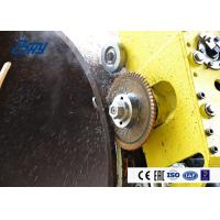 Best Automatic Climbing Cutting Beveling Machine 0RPM - 60RPM Cutter Speed wholesale