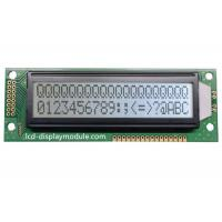 China COB Resolution 20x2 LCD Dot Matrix Module , Character Transflective LCD Display on sale