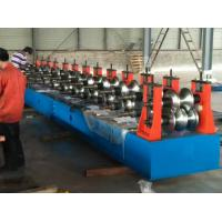 Best Freeway Barrier Profile Roll Forming Machine Cold Bending Use Multi-rollers Stations by Huge Power 45 Kw Motor wholesale