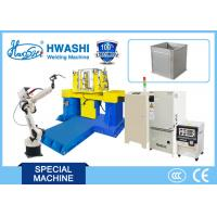 Quality Steel Cabinet Case Industrial Welding Robot With Panasonic TIG / MIG Welder wholesale