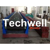 Best Automatic 4 - 8m/min Galvanized Steel Silo Corrugated Wall Sheet Roll Forming Machine wholesale
