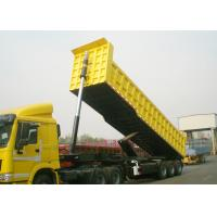 Quality TITAN 3 Axle end dump trailer 30 CBM rear tipping trailer with the capacity of 60 T wholesale