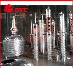 Best 100Gal Copper Commercial Distilling Equipment , Vodka Distillery Equipment wholesale