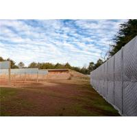 Best Construction sound barrier/ Temporary Acoustic Fencing 40dB noise reduction PVC fireproof and Waterproof Jacket wholesale
