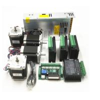 Buy cheap CNC Router Kit TB6600 4.0A Stepper Motor Driver + Nema23 255OZ.IN + 5 Axis Interface Board + Power Supply from wholesalers