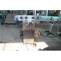 Best Beer Glass Bottled Plastic Water Production Line With Foil Sealing Induction Machine wholesale