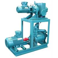 China Mechanical Booster Water Vacuum Pump , 1.1kw Vacuum Ring PumpPositive Displacement on sale