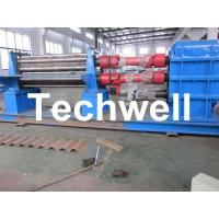 Best 3 - 6mm Corrugation Rolling Machine With 45kw Motor and PLC Control Box wholesale