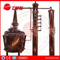 Best 1000L Electric Alcohol Distiller Grain Whisky Temperature Control In Stock wholesale