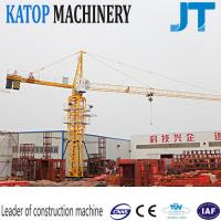 Buy cheap Tower crane 5t load QTZ63-TC5010 tower crane with low price for Vietnam from wholesalers