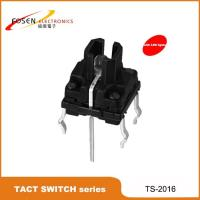 China IP67 waterproof led illuminated tact switch TS-2016 push button switch on sale