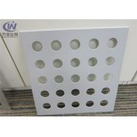 China Powder Coated Round Hole Aluminum 5052 Perforated Sheet for Separators on sale
