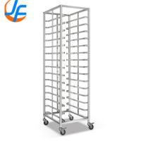 China Durable Bakery Rack Trolley , Stainless Steel Bakery Trolley For Rotary Oven on sale