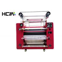 Best Roll Reflective Lanyard Heat Press Machine Oil Heating For Double Side Ribbon Printing wholesale