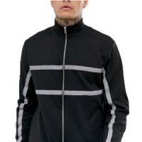 China Customized Mens Reflective Bomber Jacket For Winter Waterproof Plus Size on sale