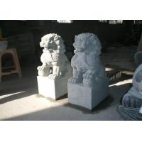 Best Natural  Stone Garden Sculptures Stone Lion Garden Ornaments Custom Hand Carved wholesale