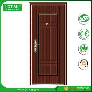 Best Front safety entry steel door single security door designs for sale wholesale