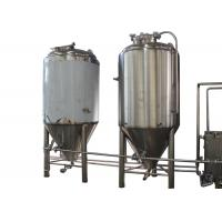 Best 5BBL Semi-Automatic Industrial Beer Brewing Equipment With Top Manway wholesale