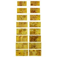Buy cheap 24 Karat Gold Foil Banknotes from wholesalers