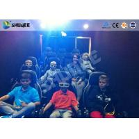 Best Mobile 5D Movie Theater With Truck And Usually Set 9 Seats Electronic Motion Chairs wholesale
