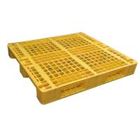 Best Euro type HDPE single faced grid 9 feet plastic pallet wholesale