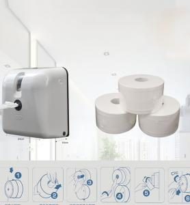 China Plastic Toilet Tissue Towel Paper Dispenser Wall Mount Space Saving on sale