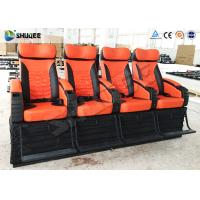 Best 4 Seat Per Set 4D Movie Theater Cinema Equipment Customize Color Motion Chairs wholesale
