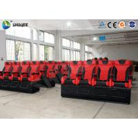 Best Large 4D Movie Theater Long Movie Pneumatic System Chair With Cup Holder wholesale
