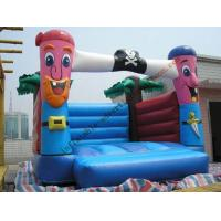 Best Reusable / Fireproof Inflatable Castle Bouncer Outdoor , OEM wholesale