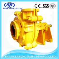 China Abrasive Resistance 3 inch Horizontal Fly Ash Slurry Pump on sale