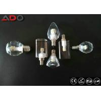 Best E12 Crystal Led Candle Light Ac110v With Ic Constant Current Led Driver wholesale