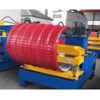 Best PLC Control Roof Pipe Bending Machine Hydraulic With Adjustable Speed wholesale
