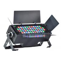 China 48x3W RGBW led wash light with barndoor for theatre, events, productions, installation on sale