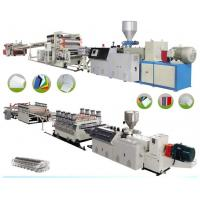 Best PVC Sheet Board Plastic Extrusion Machine Advertising Materials 1220mm Width wholesale